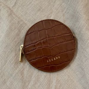 Sezane coin purse
